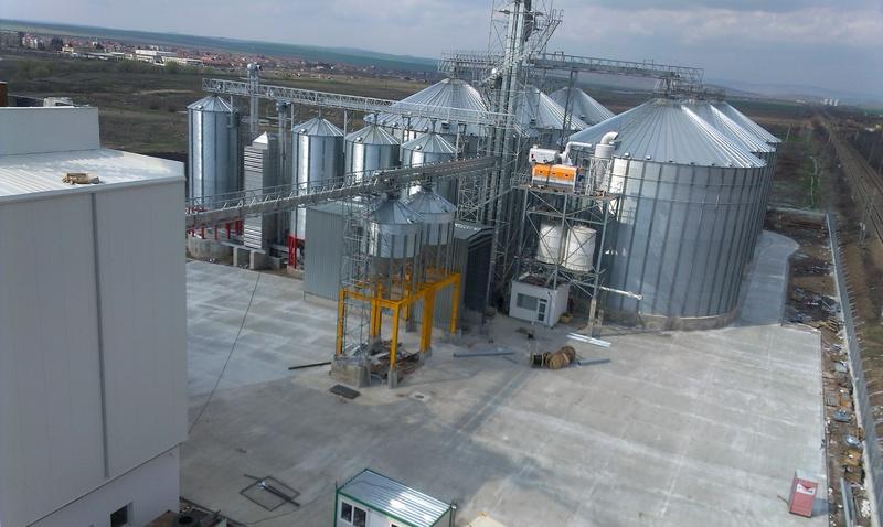 Мелница за преработка на зърно в гр.Камено